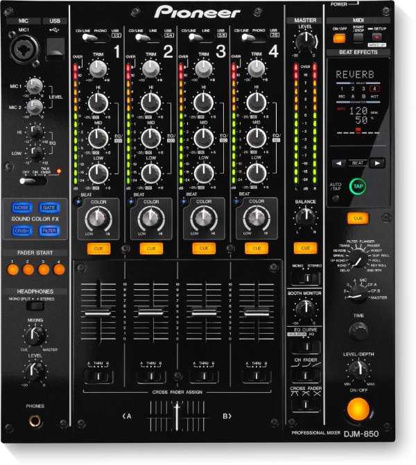 DJ Mixer Pioneer DJM 850 K