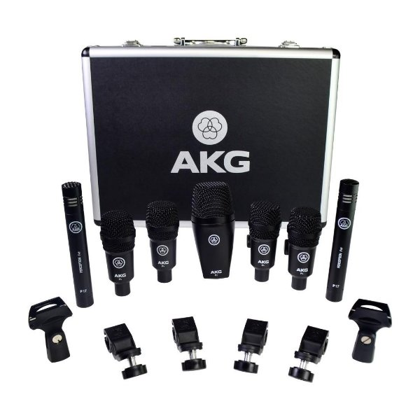 Kit De Microfone Akg Drum Set Session 1