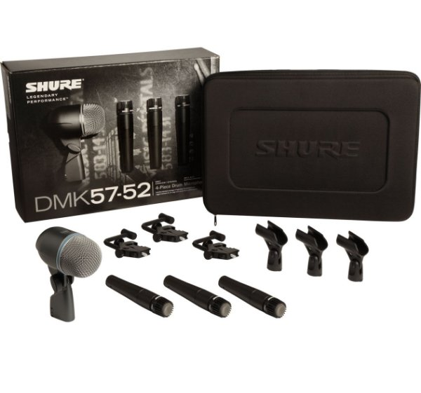 SHURE DRUM KIT DMK52-57
