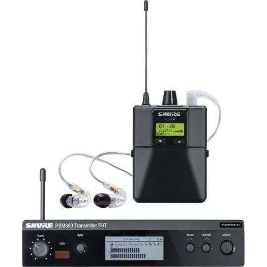 EAR PHONE SHURE PSM300
