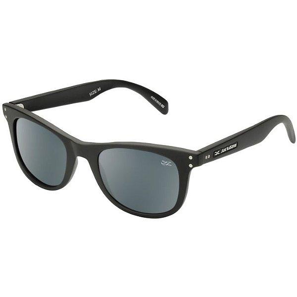 Óculos de Sol Jackdaw 17 Preto Fosco com Lentes Cinza - Óculos de ... 7933e9d574