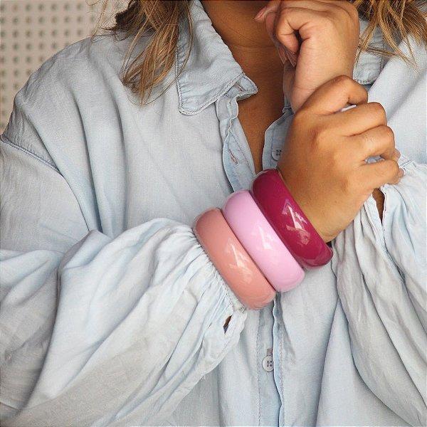 Bracelete G liso