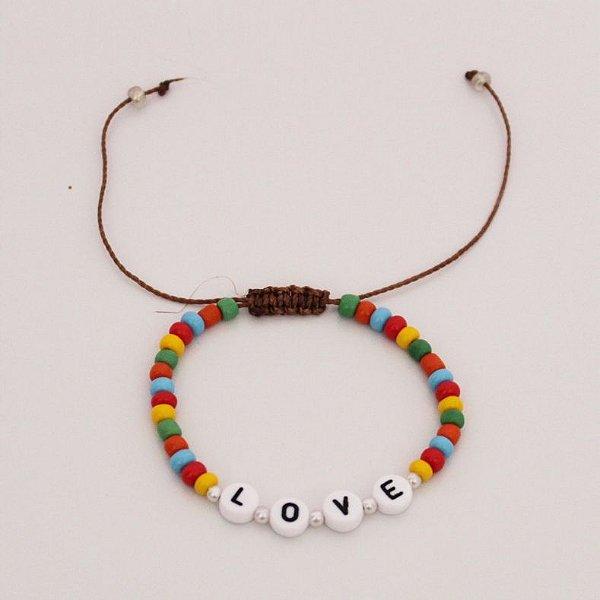 Pulseira rainbow love