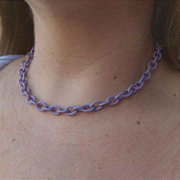 Corrente cadeado violeta