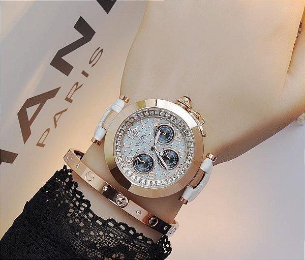 462720bd543 Dali Menina Mulher - Relógio Guou Diamante - Dali Menina Mulher
