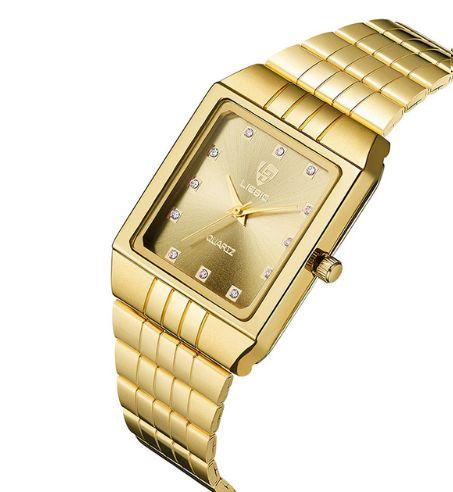 9cf954a57cd Dali Menina Mulher - Relógio Feminino Skmei Gold - Dali Menina Mulher