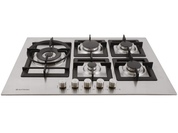 Cooktop Elettromec Quadratto 5B 75cm