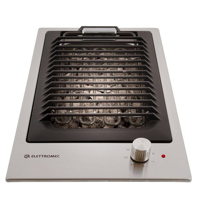 Cooktop Barbecue Quadratto Elettromec 30cm 220V