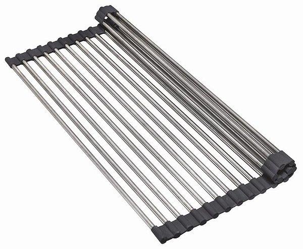 Grade Escorredora em Inox DeBacco 49,5x33cm - Grid Escorredor