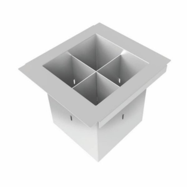Porta Talheres DeBacco 15cm - Canal Organizador Úmido
