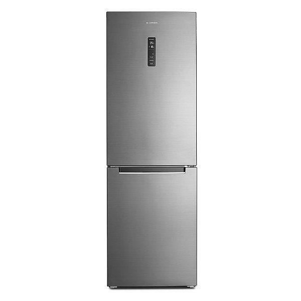 Refrigerador Inox Elettromec Botton Freezer  317L