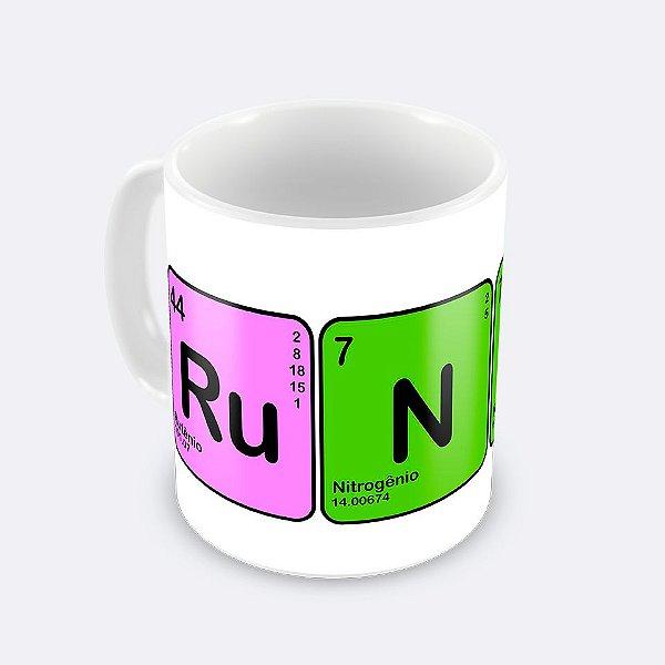 Caneca Runner Elementos Químicos