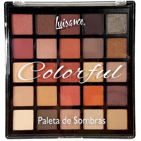Paleta de Sombras - Colorful ref;l797 - Luisance