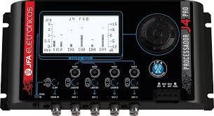 Processador De Áudio Digital Jfa J4 Pro Crossover