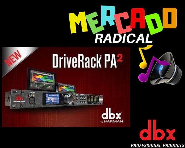Processador Drive Rack PA2 220V Preto DBX