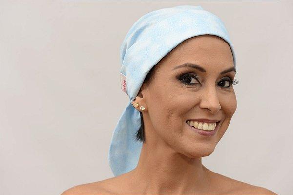 Lenço Quimioterapia Chapéu Azul Modena