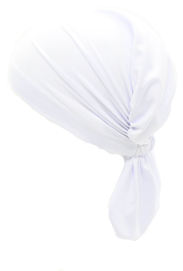 Lenço Quimioterapia Beanie Branco