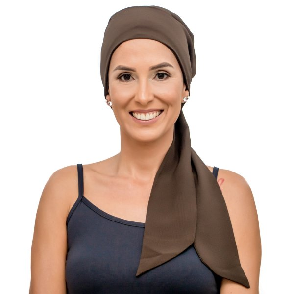 Lenço Quimioterapia Headscarf Marron