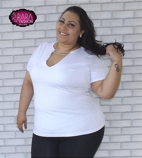 0f47f2fb3 Blusa Plus Size Ivete - Moda Feminina Plus Size do tamanho 48 ao 66 .