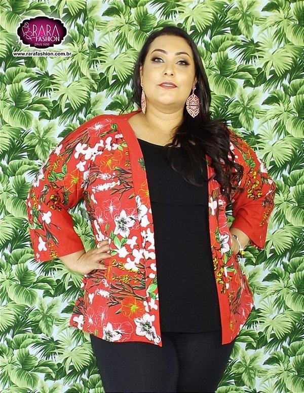 d515fc275e Kimono Liss Plus Size - Moda Feminina Plus Size do tamanho 48 ao 66 .