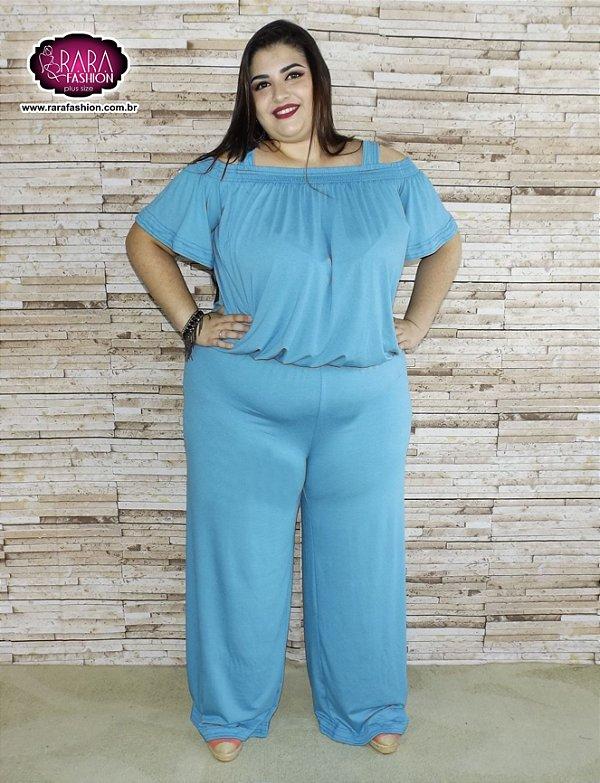 0faa16421 Macacão Longo Cigana Plus Size - Moda Feminina Plus Size do tamanho ...