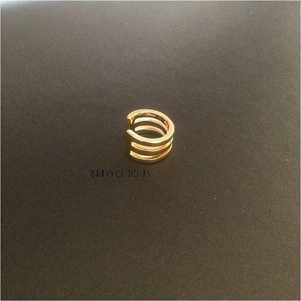 Piercing 3 voltas - Ouro  - 1PÇ