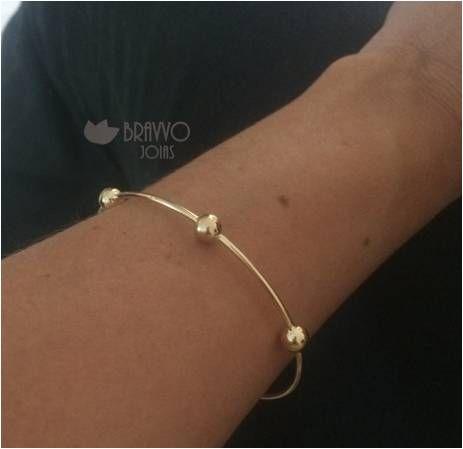 Bracelete Thassia - Ouro