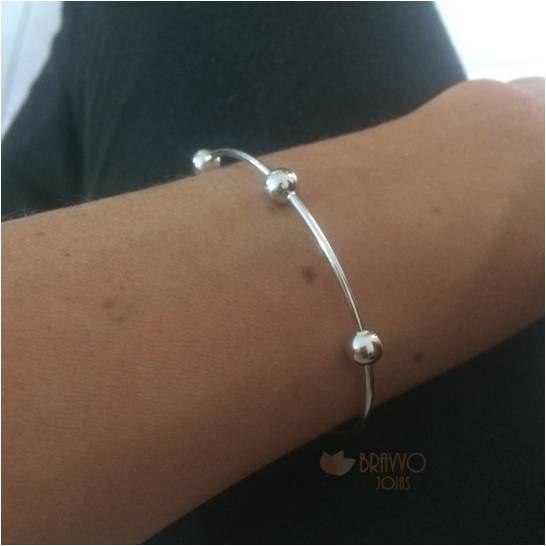 Bracelete Thassia - Ródio