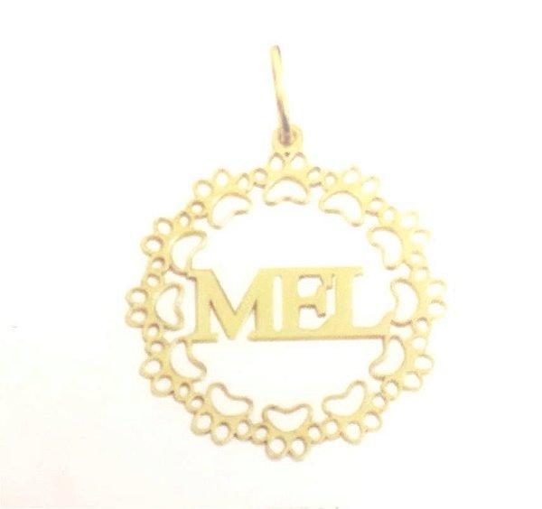 Mandala Pet - Ouro