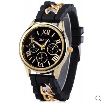 328d49f90c5 Relógio numerais romanos fivela de pino clássico - Bazar Gabriel ...