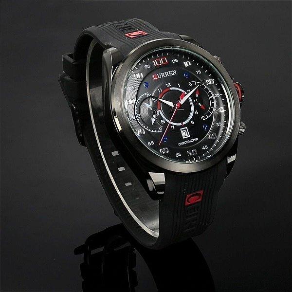 192fdbdded8 Relógio à Prova D água masculino marca curren modelo 8166 - Bazar ...