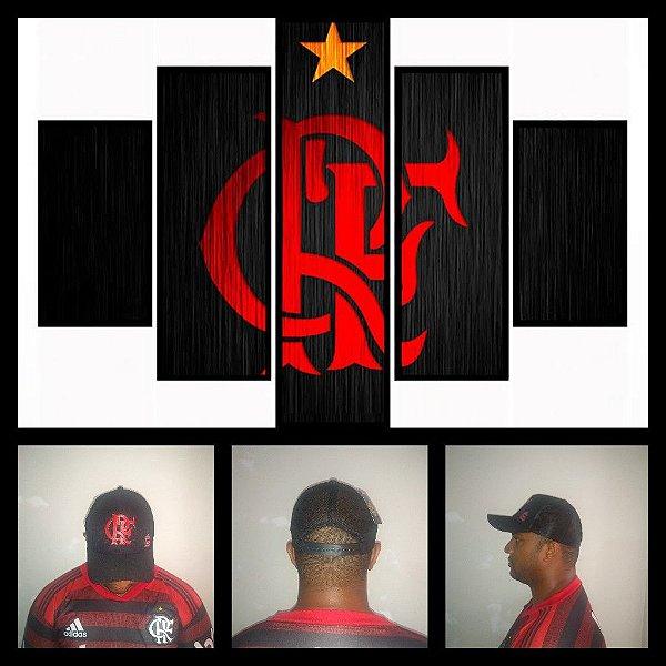 Boné do Flamengo de Tela