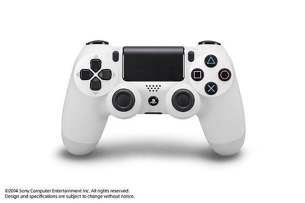 Controle Sony DualShock 4 ( GLACIER WHITE )