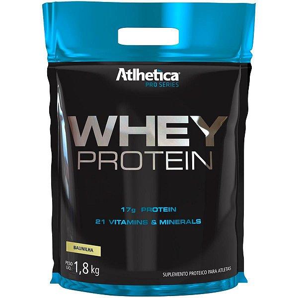 Whey protein pro series 1,8kg morango - Atlhetica