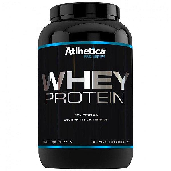 Whey protein pro series 1kg baunilha Atlhetica