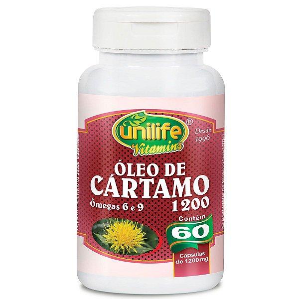 Óleo de cartamo 60 capsulas 1200 mg - Unilife