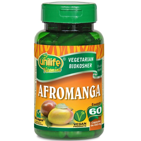Afromanga manga africana  60caps 450mg Unilife
