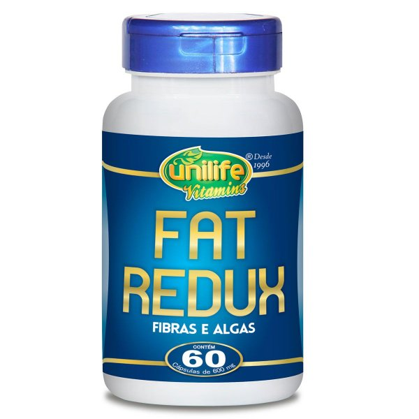 Fat Redux 60 capsulas 600 mg - Unilife