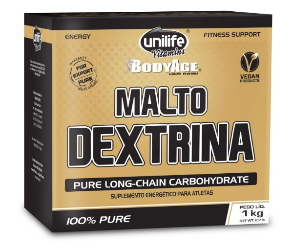 Maltodextrina limao 1 kg - Unilife