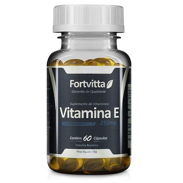 Vitamina E  60 capsulas 250mg - Fortvitta