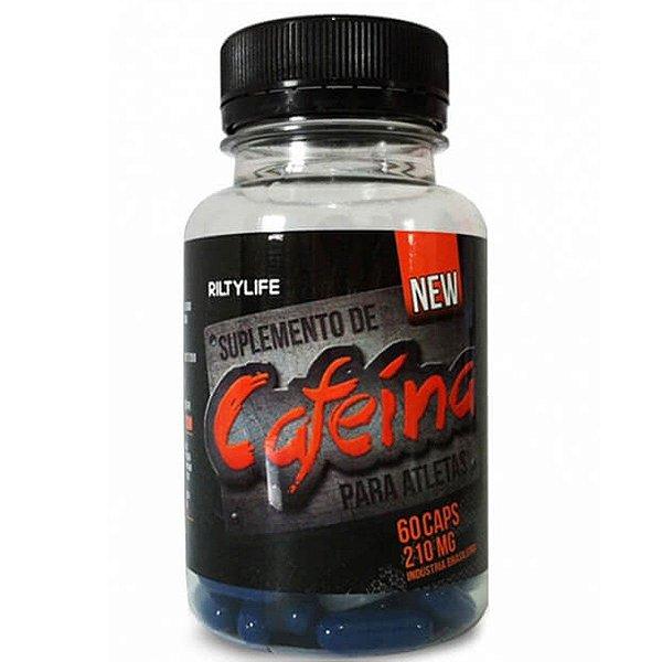 Cafeina 60caps 210mg Riltylife