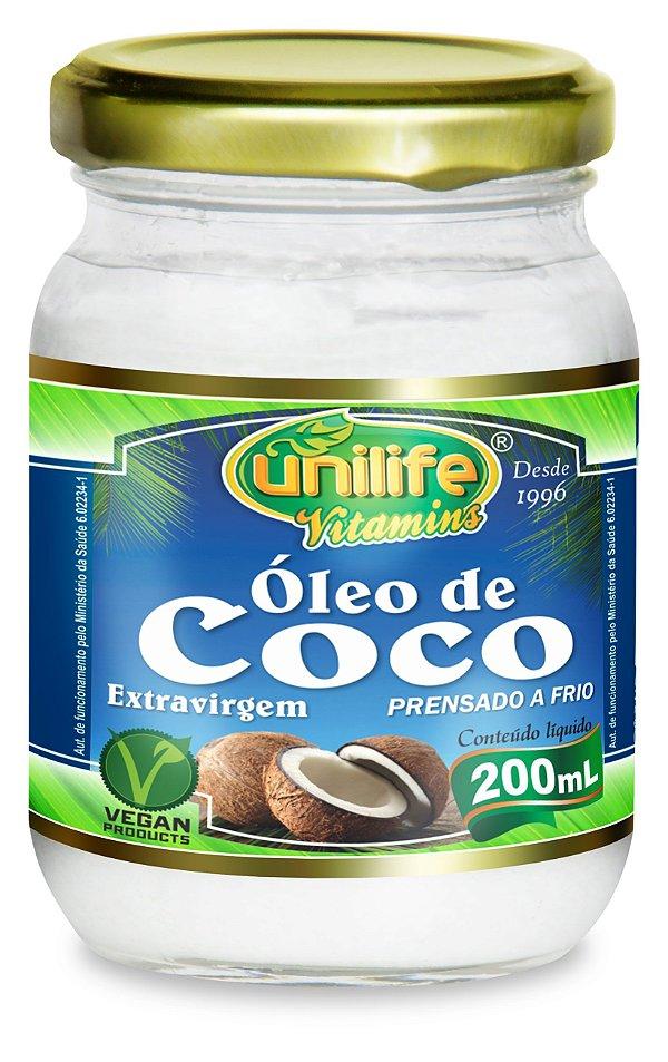 OLEO DE COCO - 200 ML
