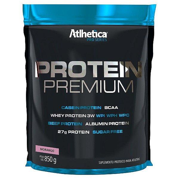 Whey  protein premium pro series sc 850 g morango