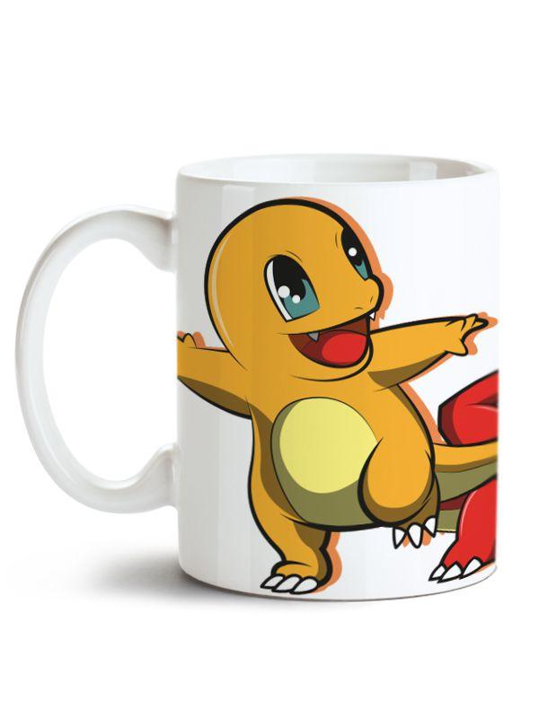 Caneca Pokémon - Charmander