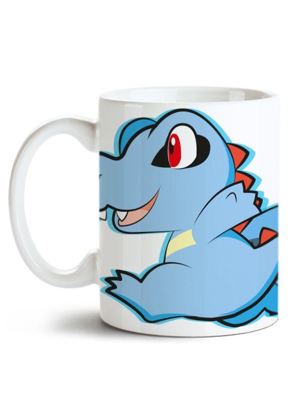 Caneca Pokémon Totodile