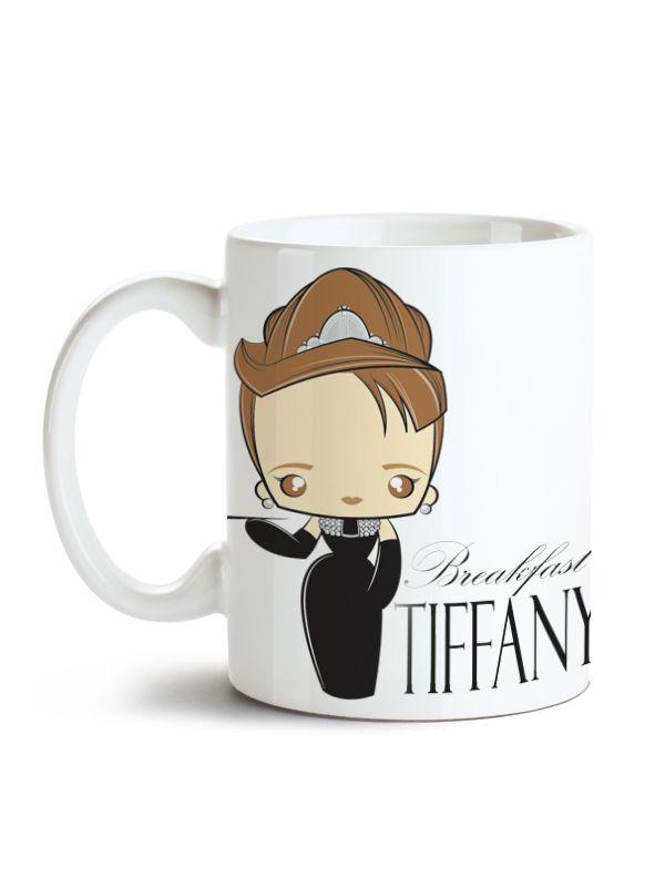 Caneca Audrey Hepburn - Bonequinha de Luxo