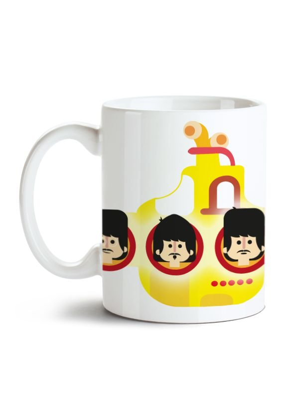 Caneca Beatles Yellow Submarine
