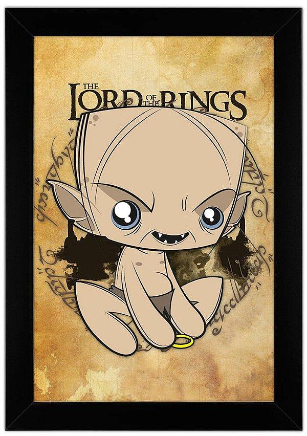 Poster Senhor dos Anéis - Gollum