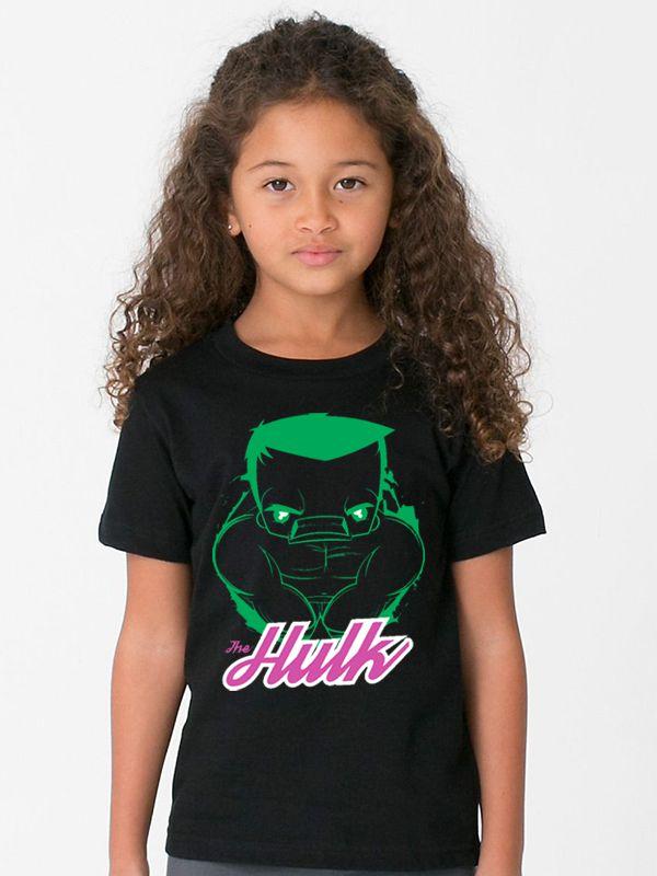 Camiseta Hulk Infantil