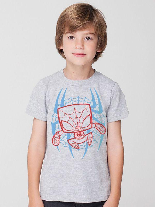 Camiseta Homem Aranha Infantil